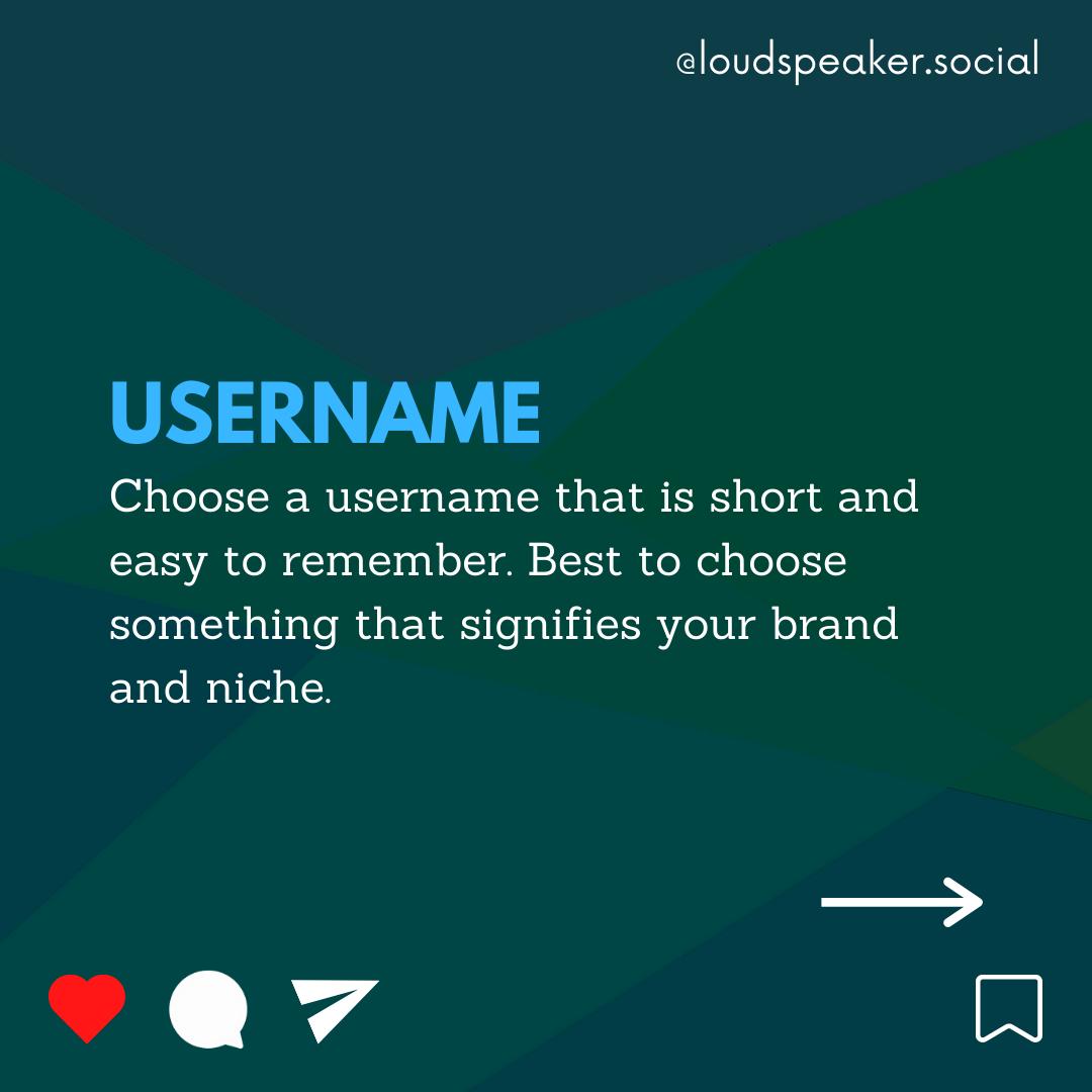 Ideas to Optimize Instagram username