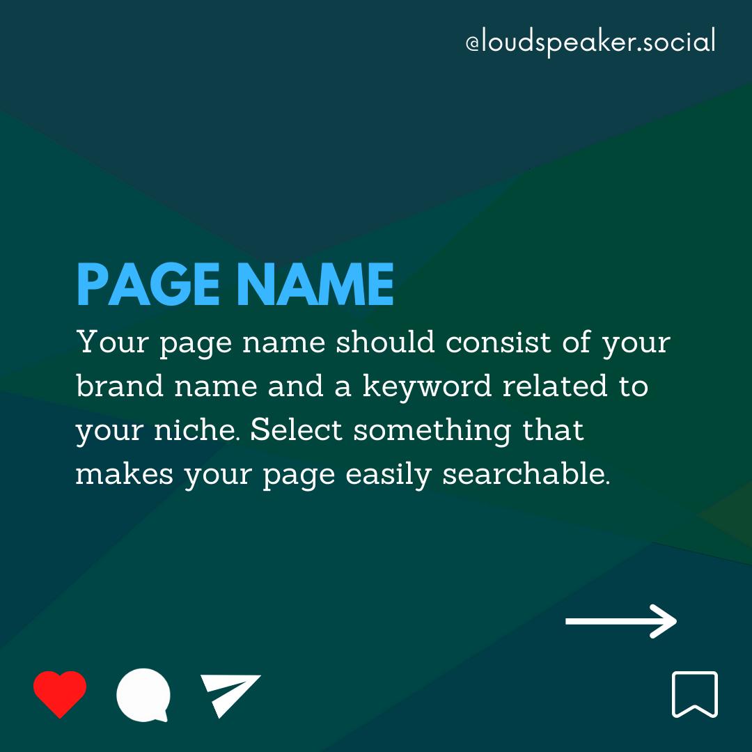 Instagram profile name