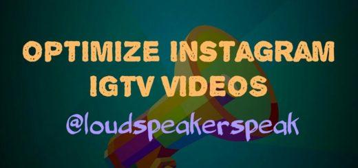 Optimize Instagram IGTV Videos