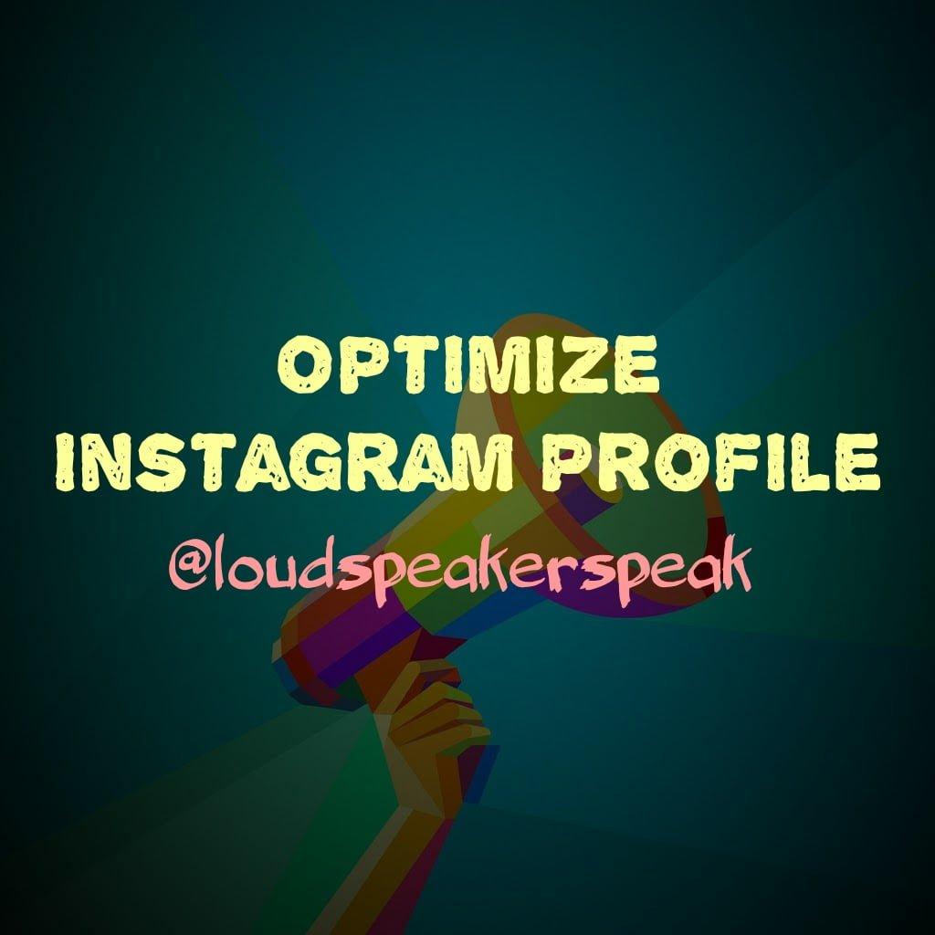 Make Instagram profile attractive