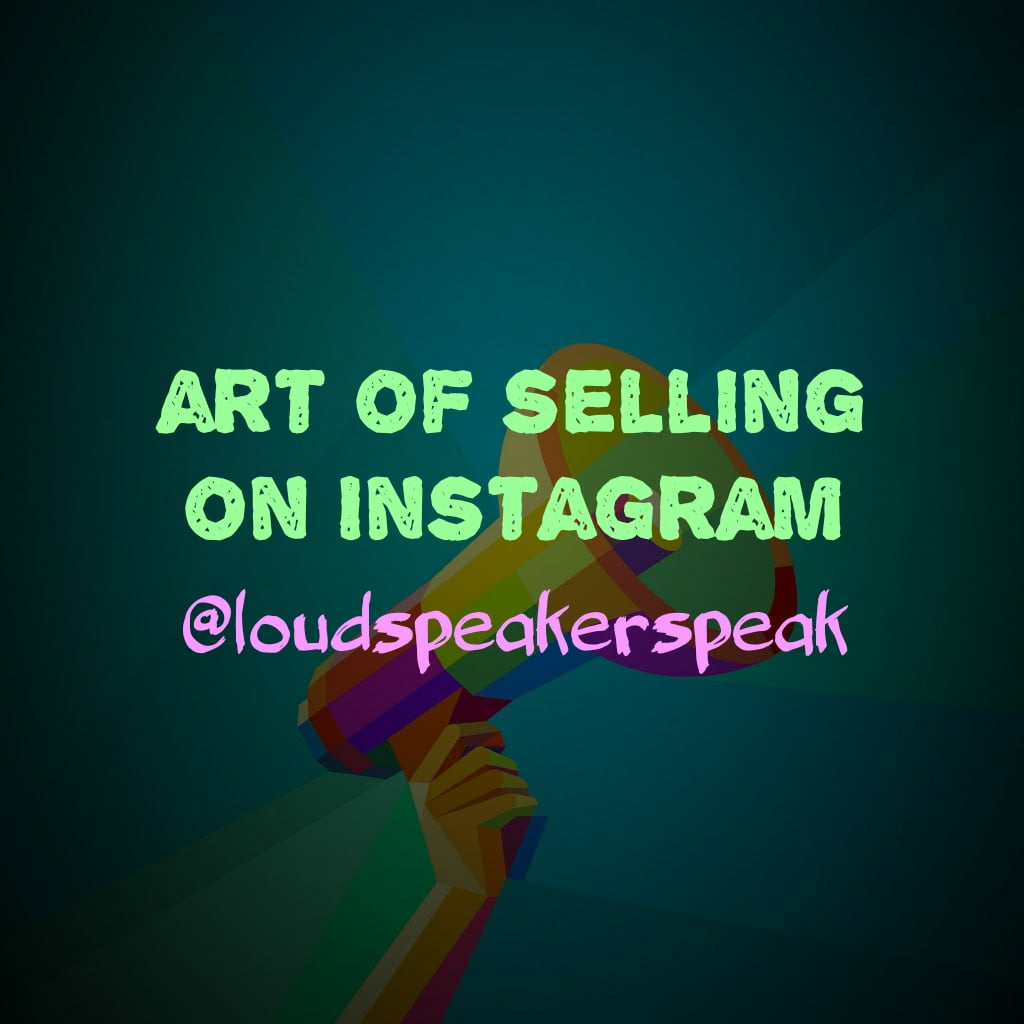 how to sell anything on Instagram